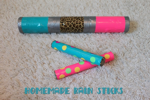 Homemade Rain Sticks