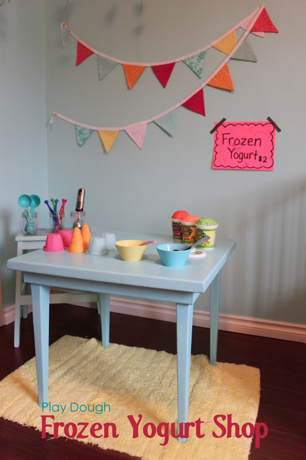 Play Dough Frozen Yogurt Shop