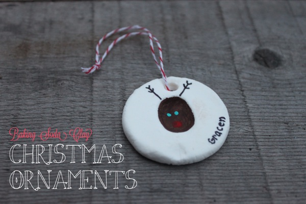 Baking Soda Clay Christmas Ornaments