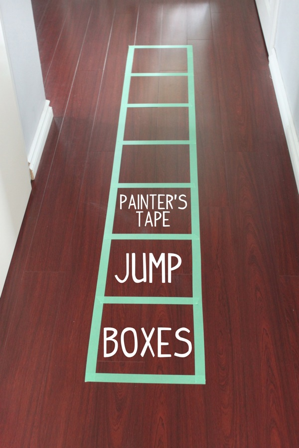 Painter s Tape Jump Boxes