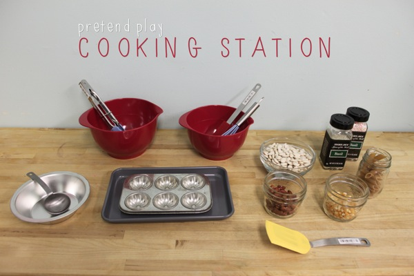 Pretend Play Cooking Station
