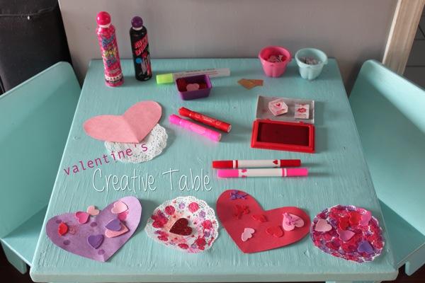 Valentine s Creative Table