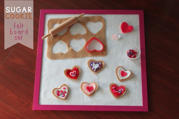Sugar Cookie Felt Board Set