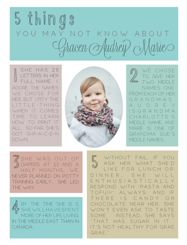 5 Things You May Not Know About Gracen