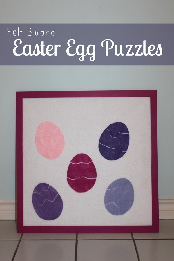 Felt Board Easter Egg Puzzles