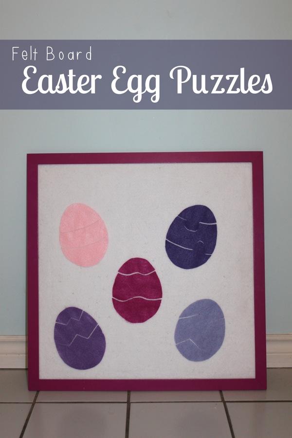 Felt Board Easter Egg Puzzles