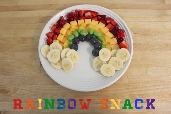 Healthy Rainbow Snack