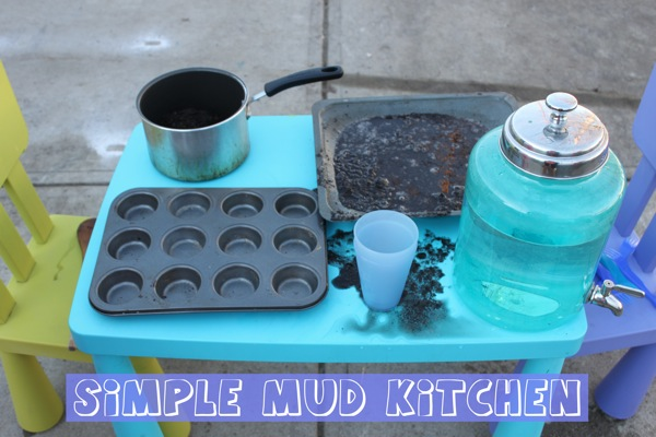 Simple MUD Kitchen