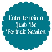 Enter to win a Just Be Portrait Session | Mama Papa Bubba