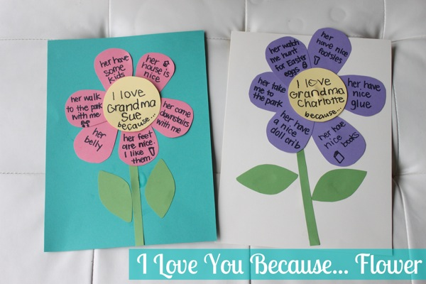 I Love You Because Flower | Mama Papa Bubba