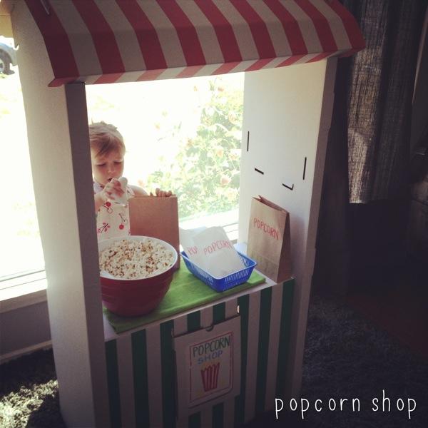 Popcorn shop